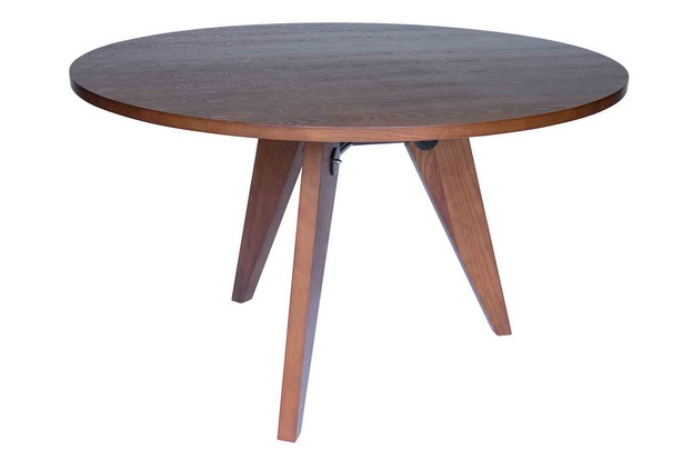 Replica Jean Prouv Dining Table Walnut Keek